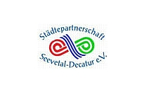 Logo Städtepartnerschaft Seevetal-Decatur