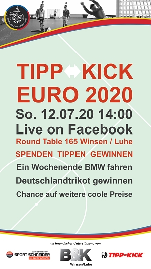 Round Table Tipp-Kick